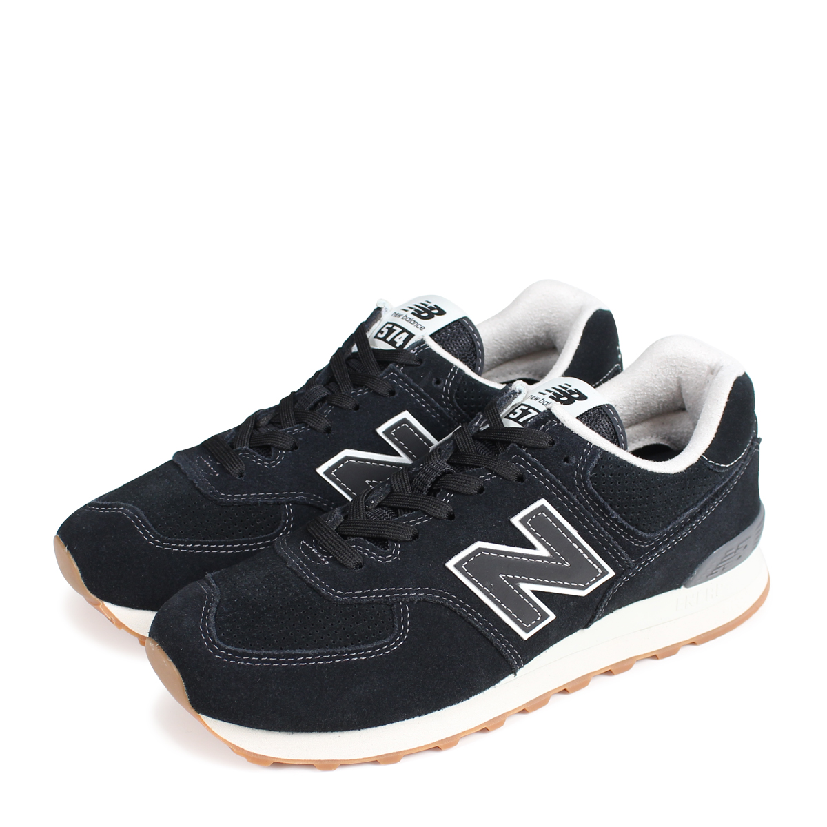 save off caf5c ac2a2 new balance ML574ESE New Balance 574 men's sneakers D Wise black [189]