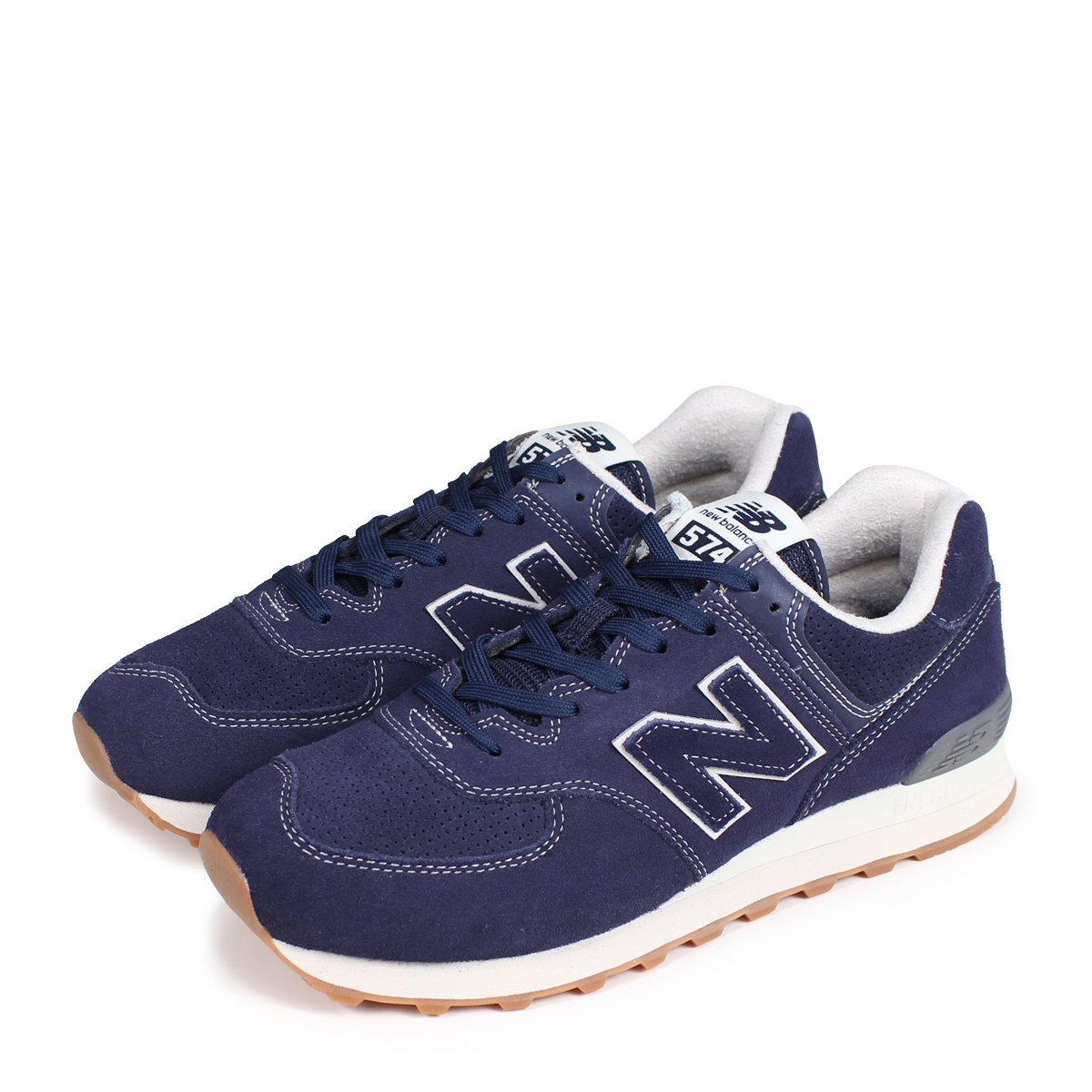 new arrival 379e4 a1657 new balance ML574ESE New Balance 574 men's sneakers D Wise navy [189]
