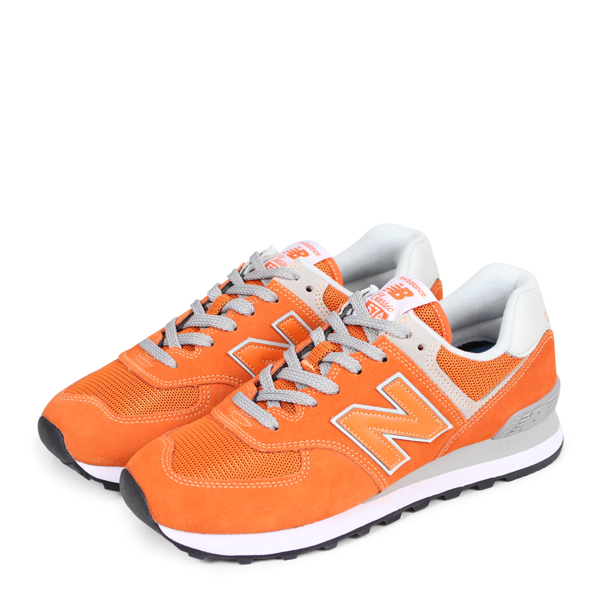 pretty nice fcf4f a4953 new balance ML574EVO New Balance 574 men's lady's sneakers D Wise orange  [185]