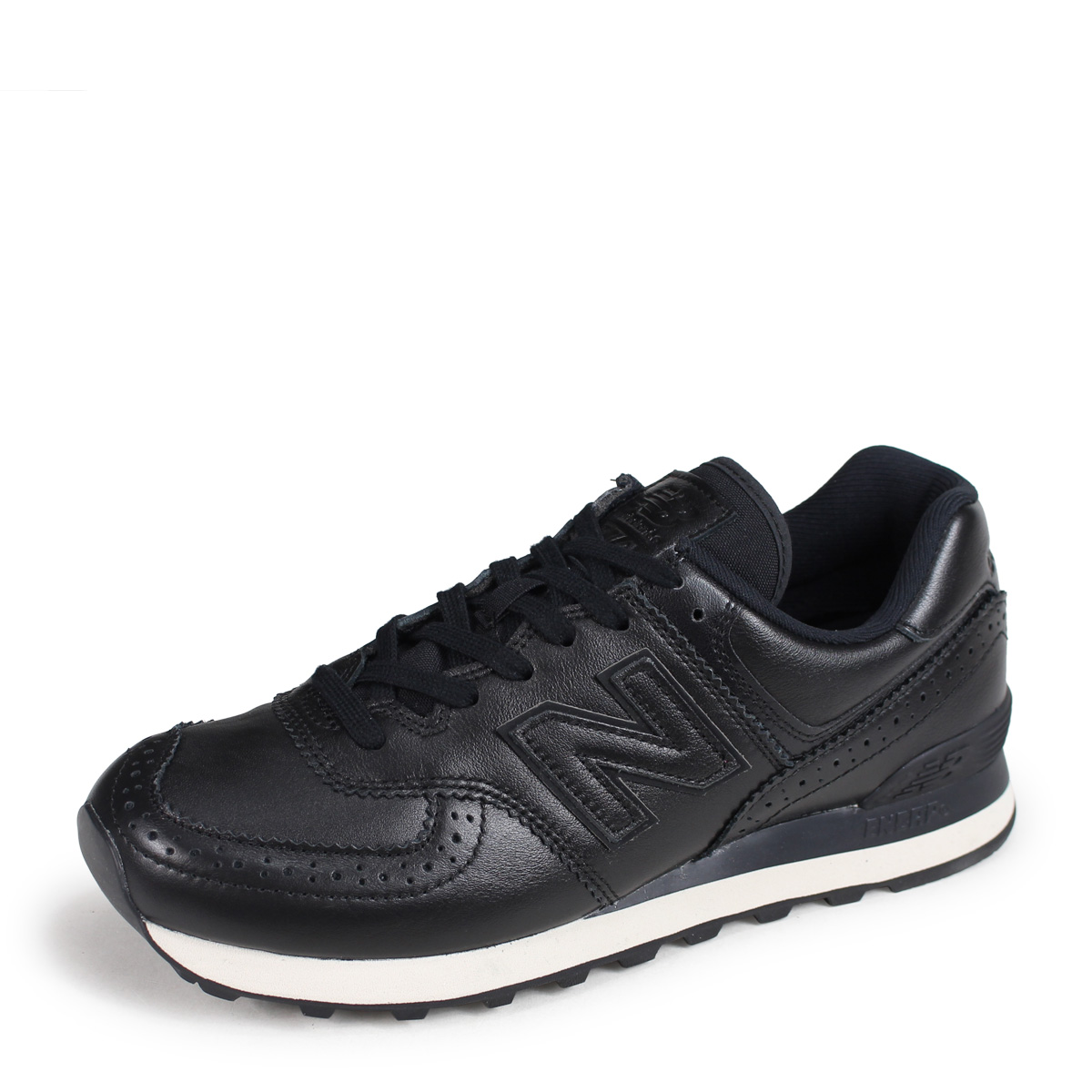 new balance New Balance 574 men's sneakers ML574LEK D Wise black [1026 Shinnyu load] [1810]