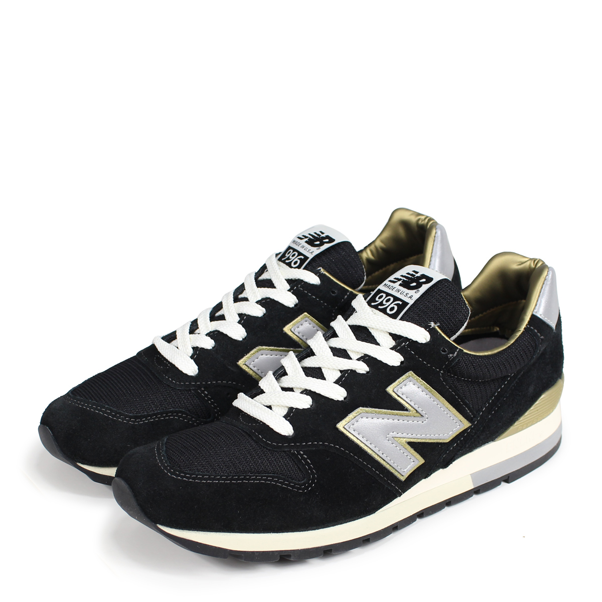 New Balance NEW BALANCE M996 MADE IN U.S.A. FOOT LOCKER comment color black gold suede NEWBALANCE foot locker men sneakers of the 30th anniversary of