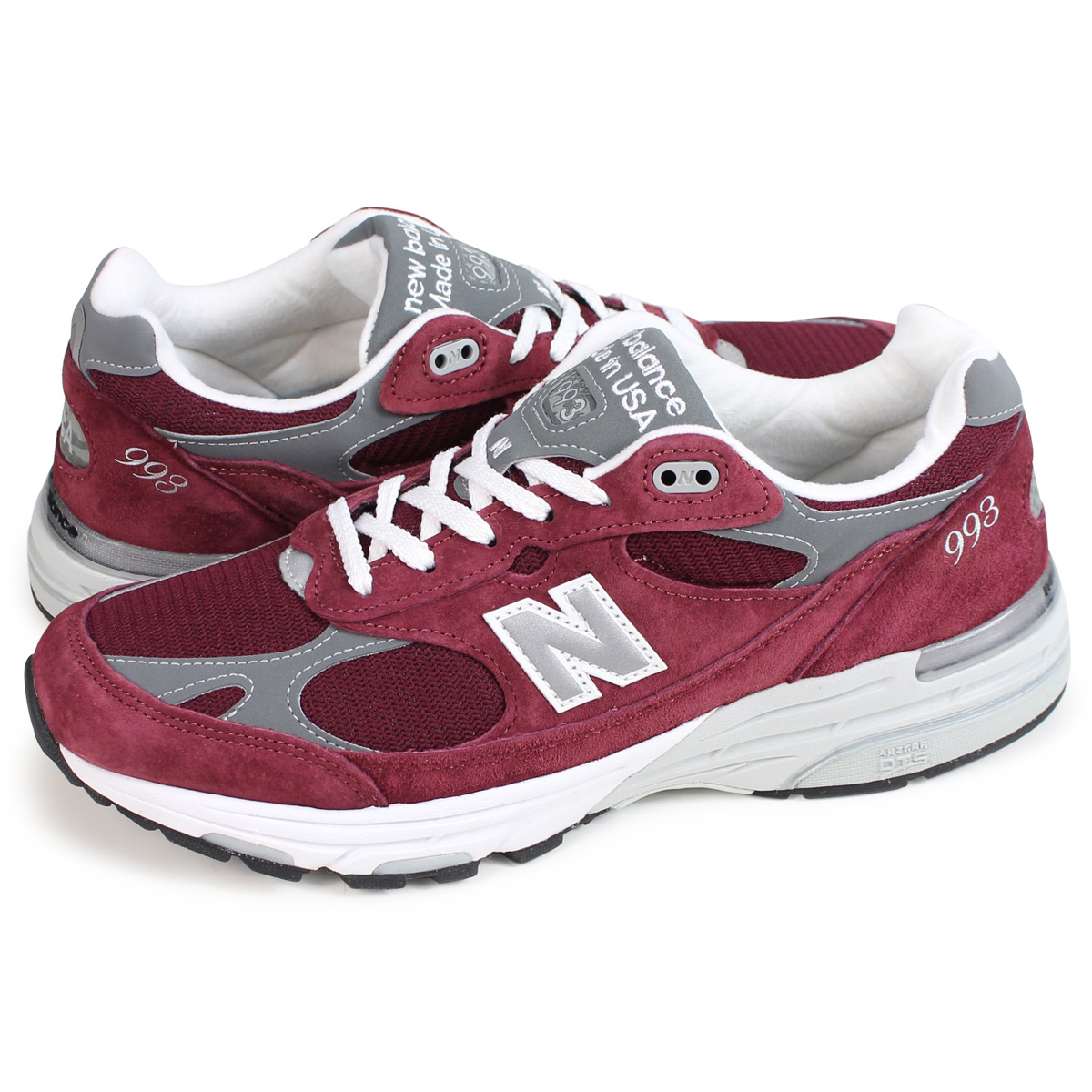 super popular afb48 a9c1f new balance MR993BU New Balance 993 men's sneakers D Wise MADE IN USA bar  Gandhi [1810]