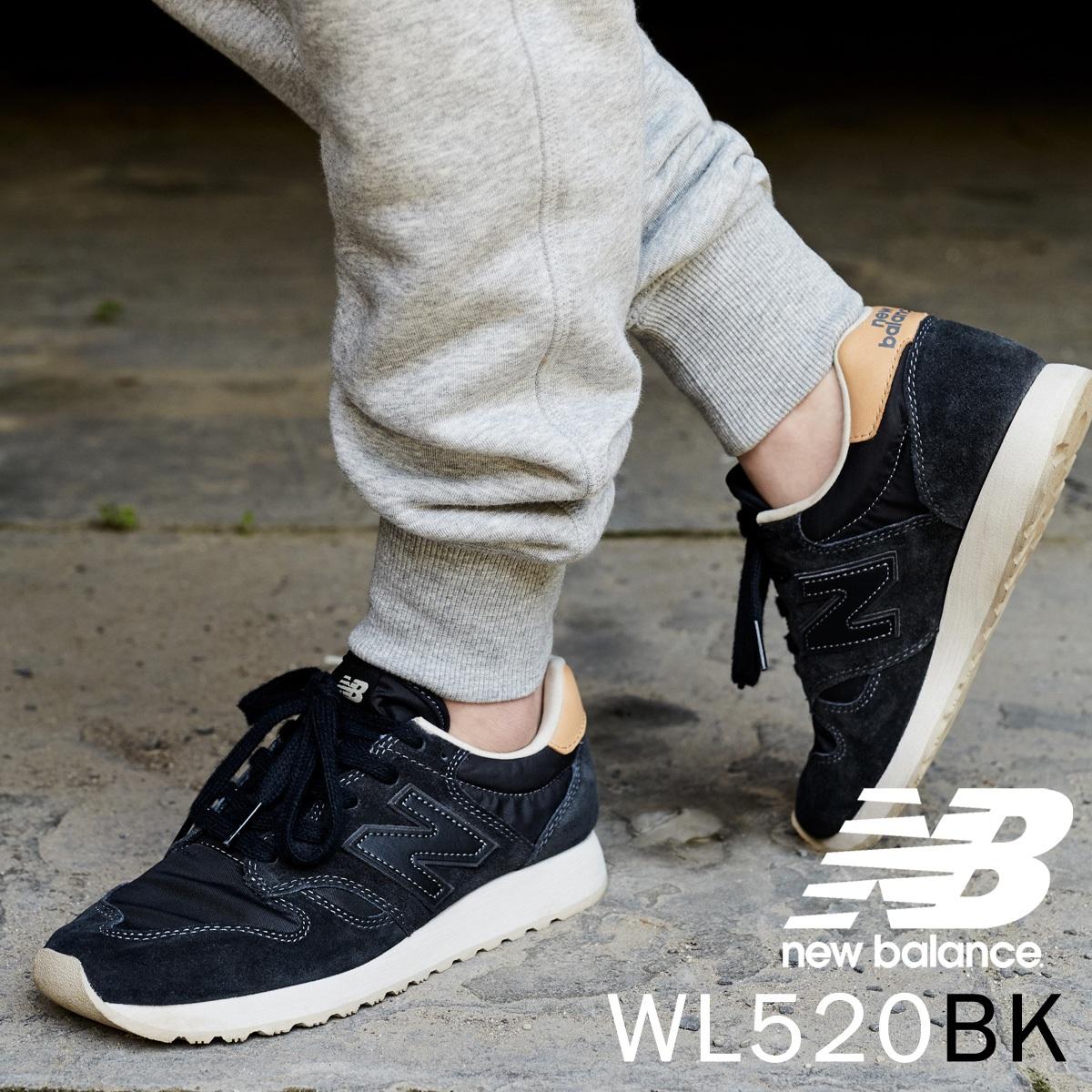 new balance wl520bk