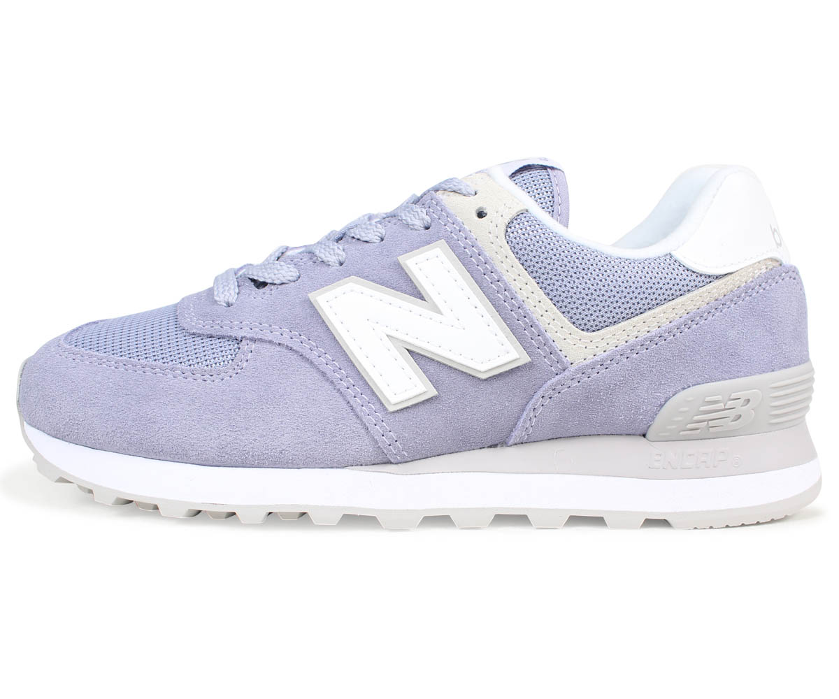 new balance 574 purple