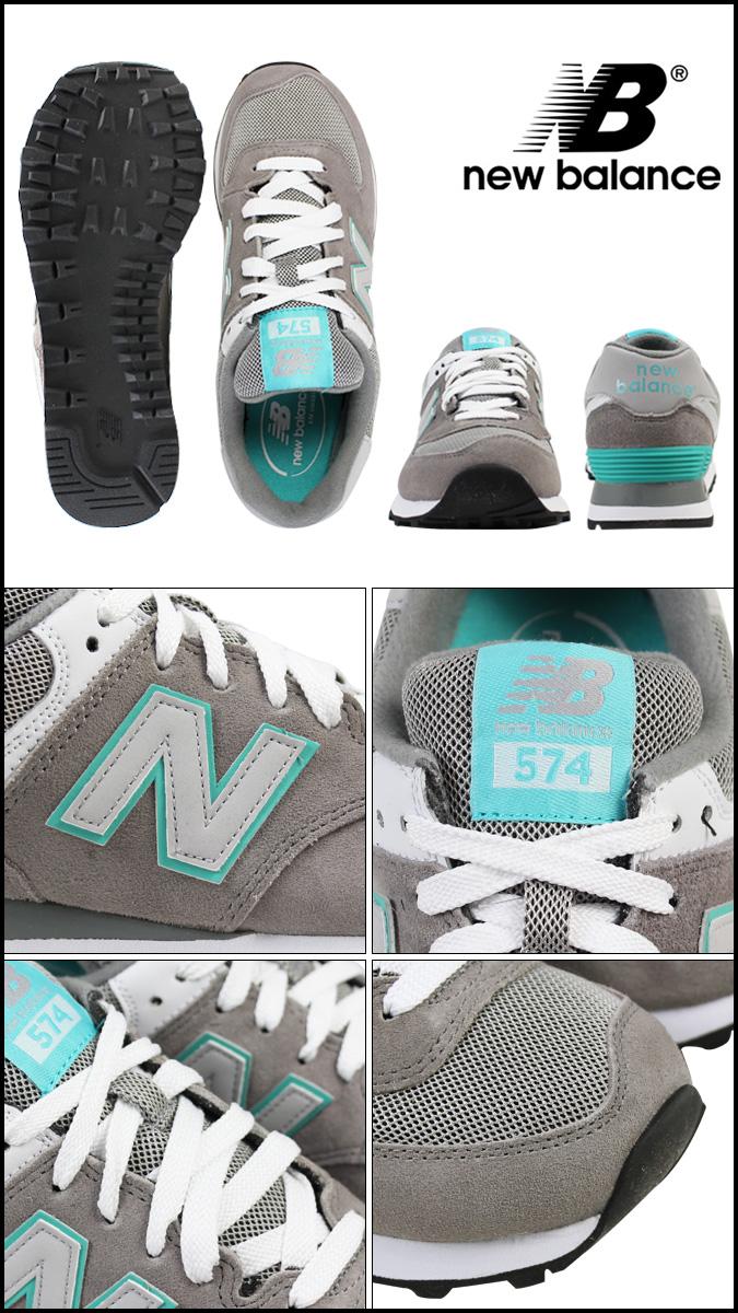 [SOLD OUT]新平衡new balance女士WL574SNG運動鞋B懷斯反毛皮革網絲人灰色蒂爾