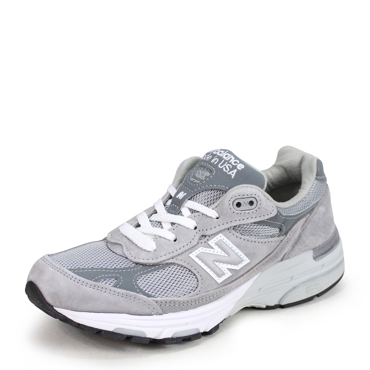 new style 2c5a5 cbdf1 new balance WR993GL New Balance sneakers gray D Wise suede mesh Made in USA  suede cloth Lady's men [196]