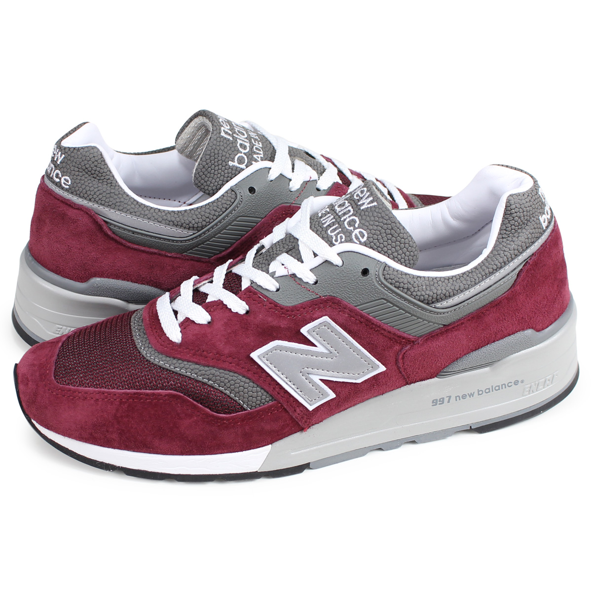 uk availability e368c 426ff new balance M997BR New Balance 997 sneakers men D Wise MADE IN USA bar  Gandhi ...
