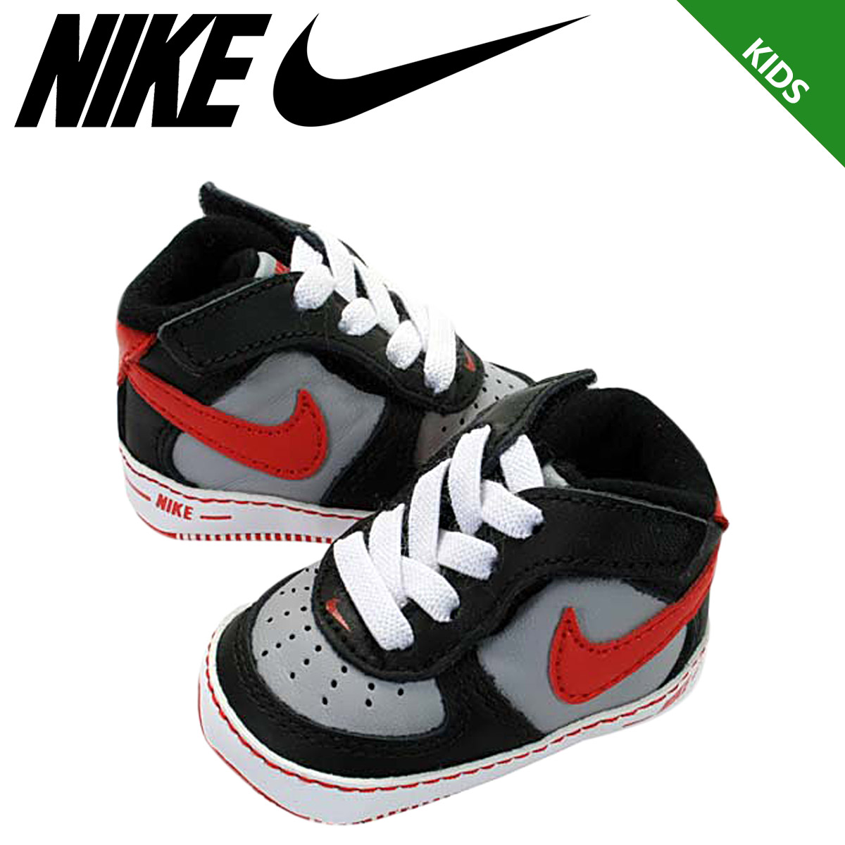 «Pre-order items» «6   17 time stock» Nike NIKE baby shoes AIR FORCE 1 CB  sneakers air force 1 Clive boys leather junior kids CRIB BOYS 325337-002  black x ... 66932272a059