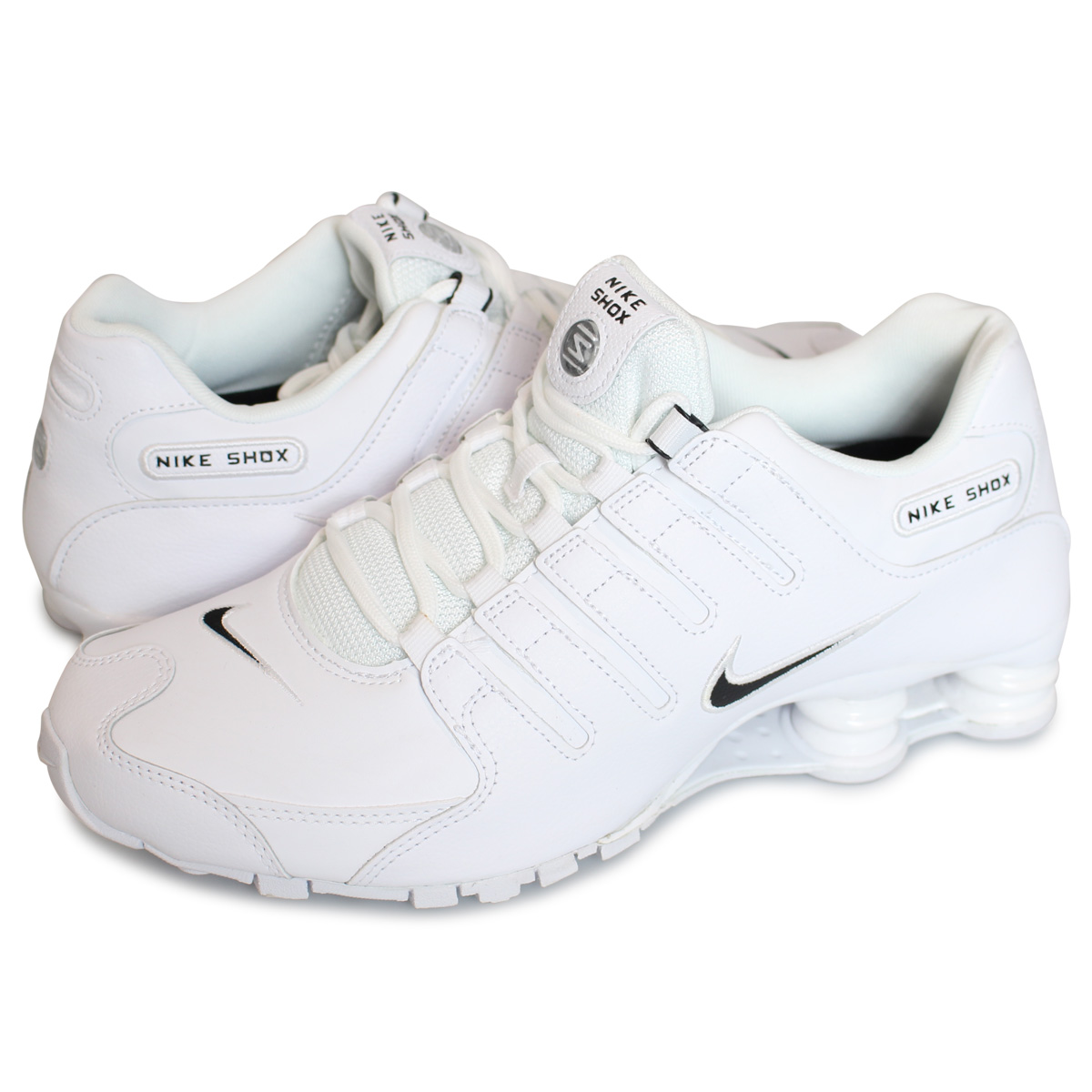 outlet boutique best loved cheap price Nike NIKE shocks sneakers men SHOX NZ white white 852,629-300 [197]
