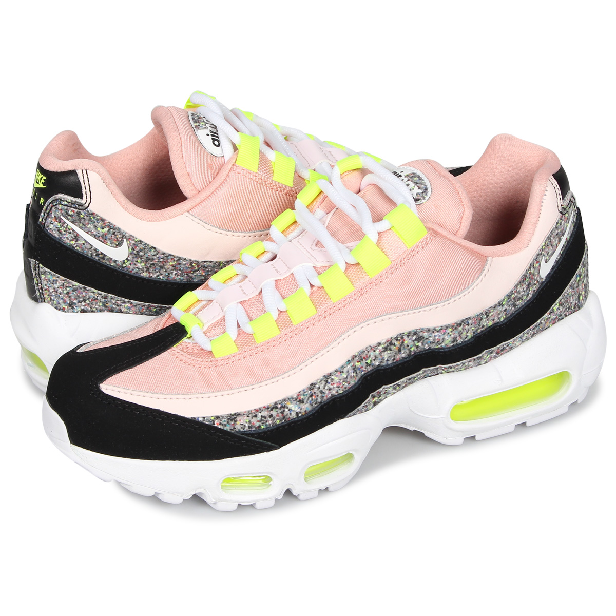 Nike NIKE Air Max 95 sneakers Lady's WMNS AIR MAX 95 white white 918,413 006