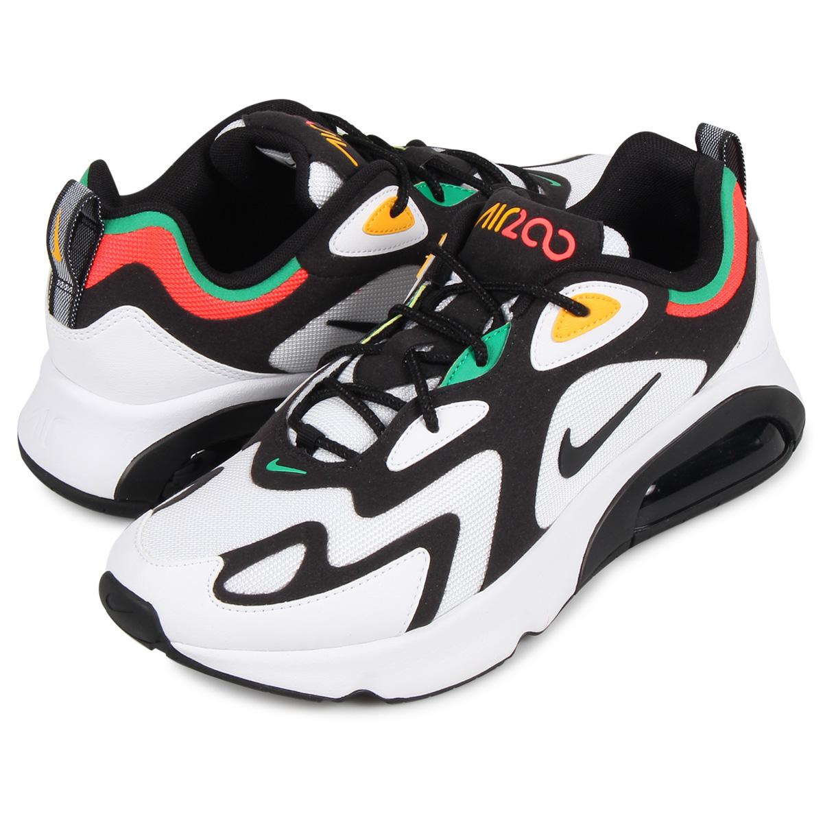 Nike NIKE Air Max 200 sneakers men AIR MAX 200 white white AQ2568 101