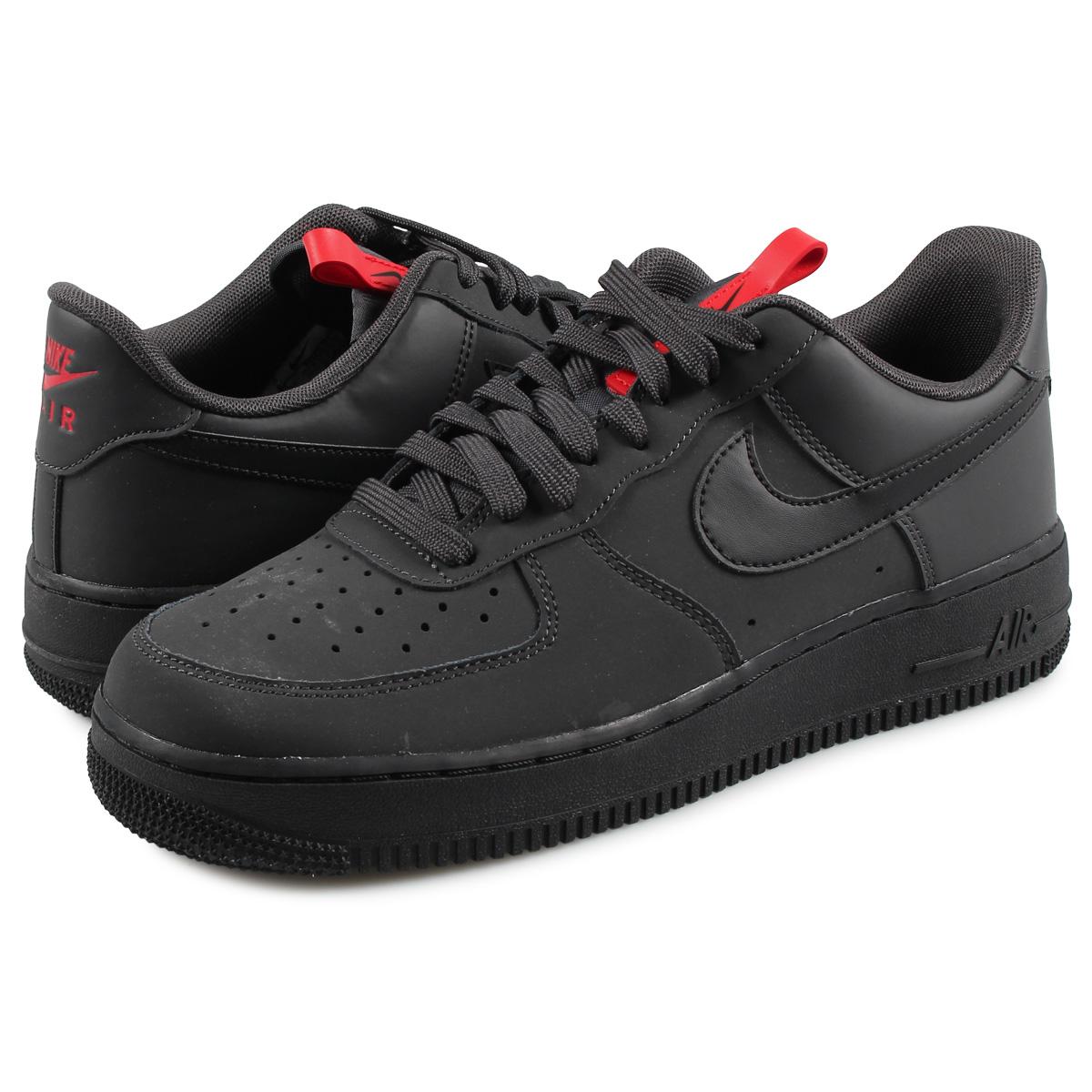 Nike NIKE air force 1 sneakers men AIR FORCE 1 07 black black BQ4326 001 [1010 Shinnyu load] [199]