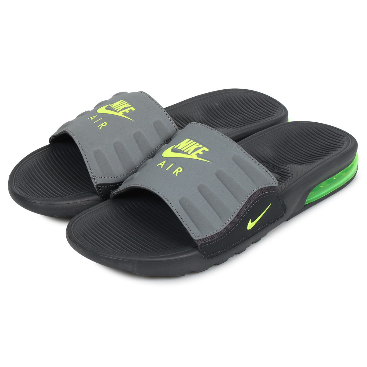 Nike NIKE Air Max sandals Camden slide shower sandals men gap Dis AIR MAX  CAMDEN SLIDE gray BQ4626-001