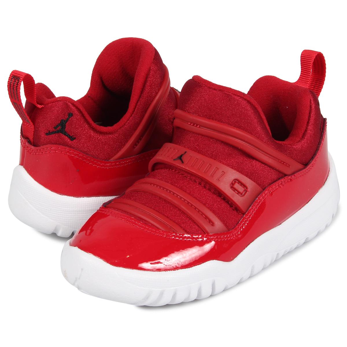competitive price 6661c fbfcd Nike NIKE Air Jordan 11 nostalgic sneakers slip-ons kids AIR JORDAN 11  RETRO LITTLE FLEX PS red BQ7101-623 [197]