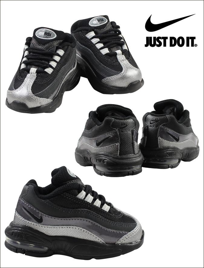 Nike NIKE baby kids AIR MAX 95 TD sneakers Air Max 95 toddler leather junior kids