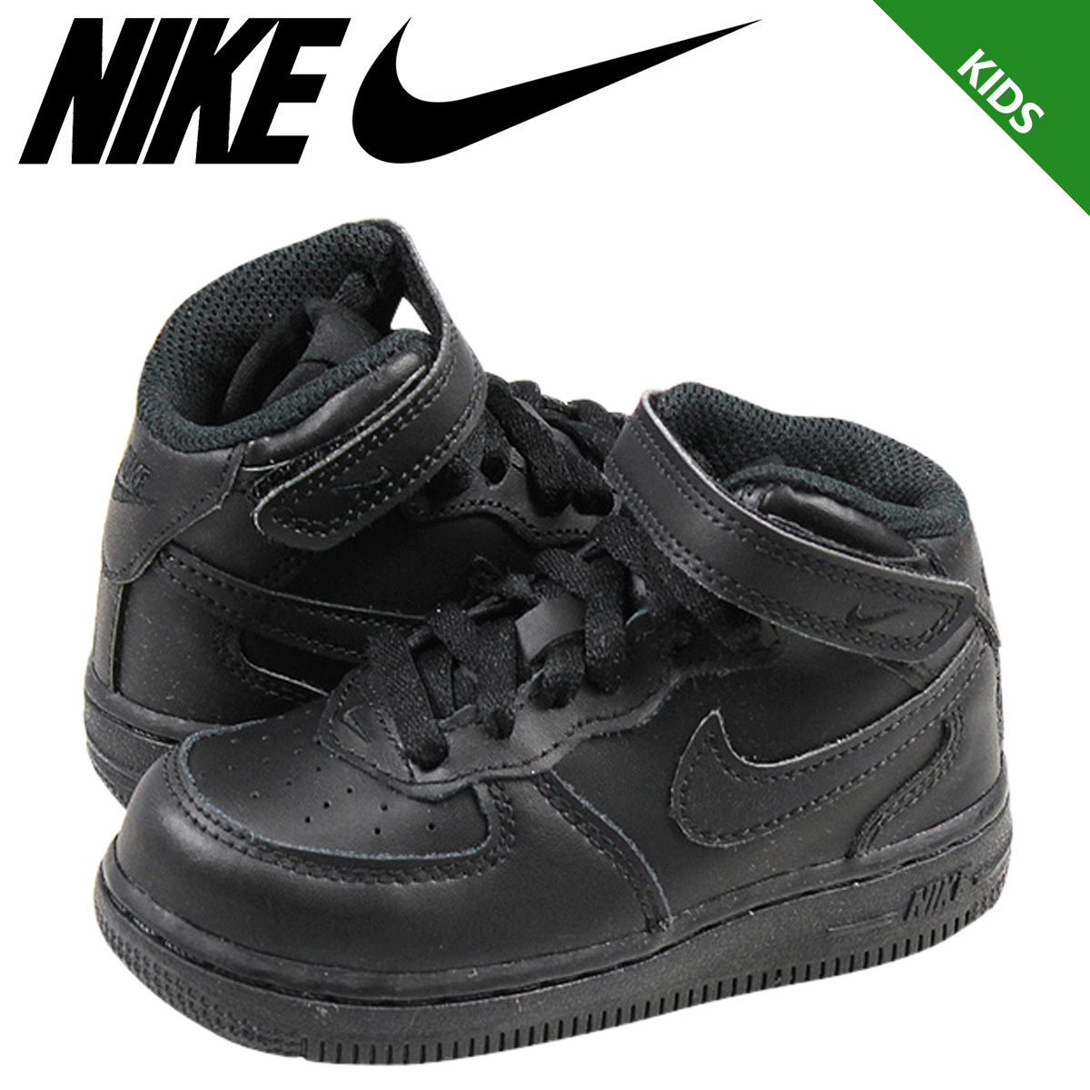 27783fbf Nike NIKE baby kids ' AIR FORCE 1 MID TD sneakers air force 1 mid toddler  ...