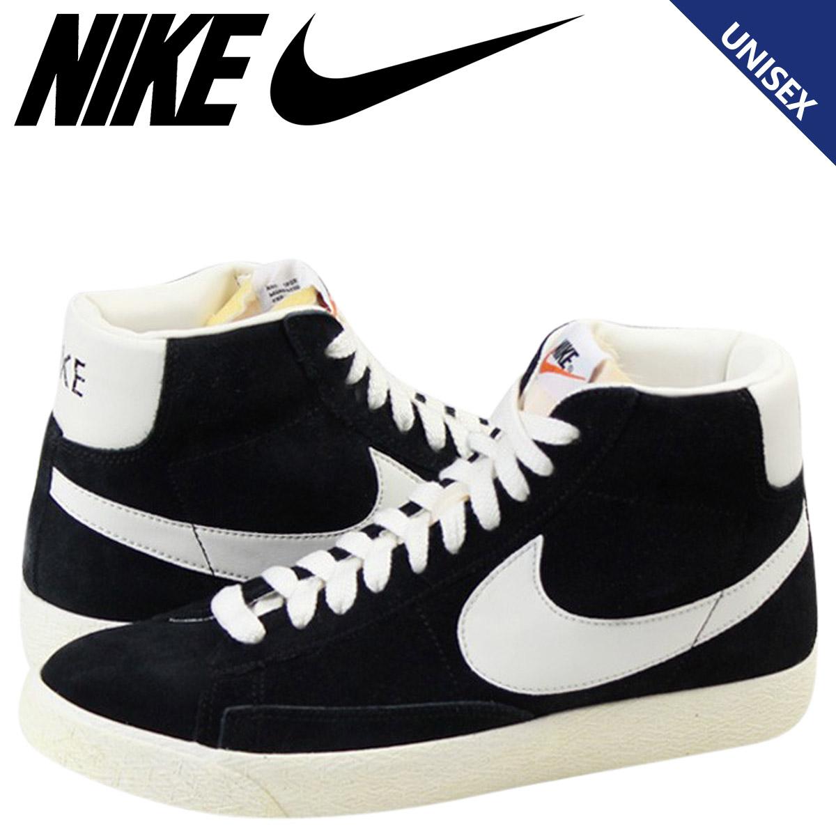 e777d4854a0ee 375,722-001 nike NIKE BLAZER HIGH VINTAGE SUEDE sneakers blazer high  vintage suede men gap Dis suede cloth unisex black [1/21 Shinnyu loads] ...