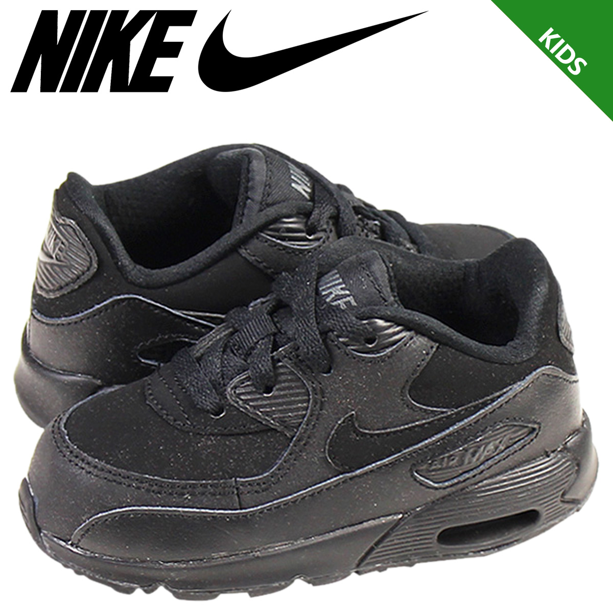 ALLSPORTS  Nike NIKE baby kids AIR MAX 90 BT sneakers Air Max 90 baby  toddler junior kids BABY TODDLER 408110-091-leather  11   12 new stock    regular  ... 40395dc8563e