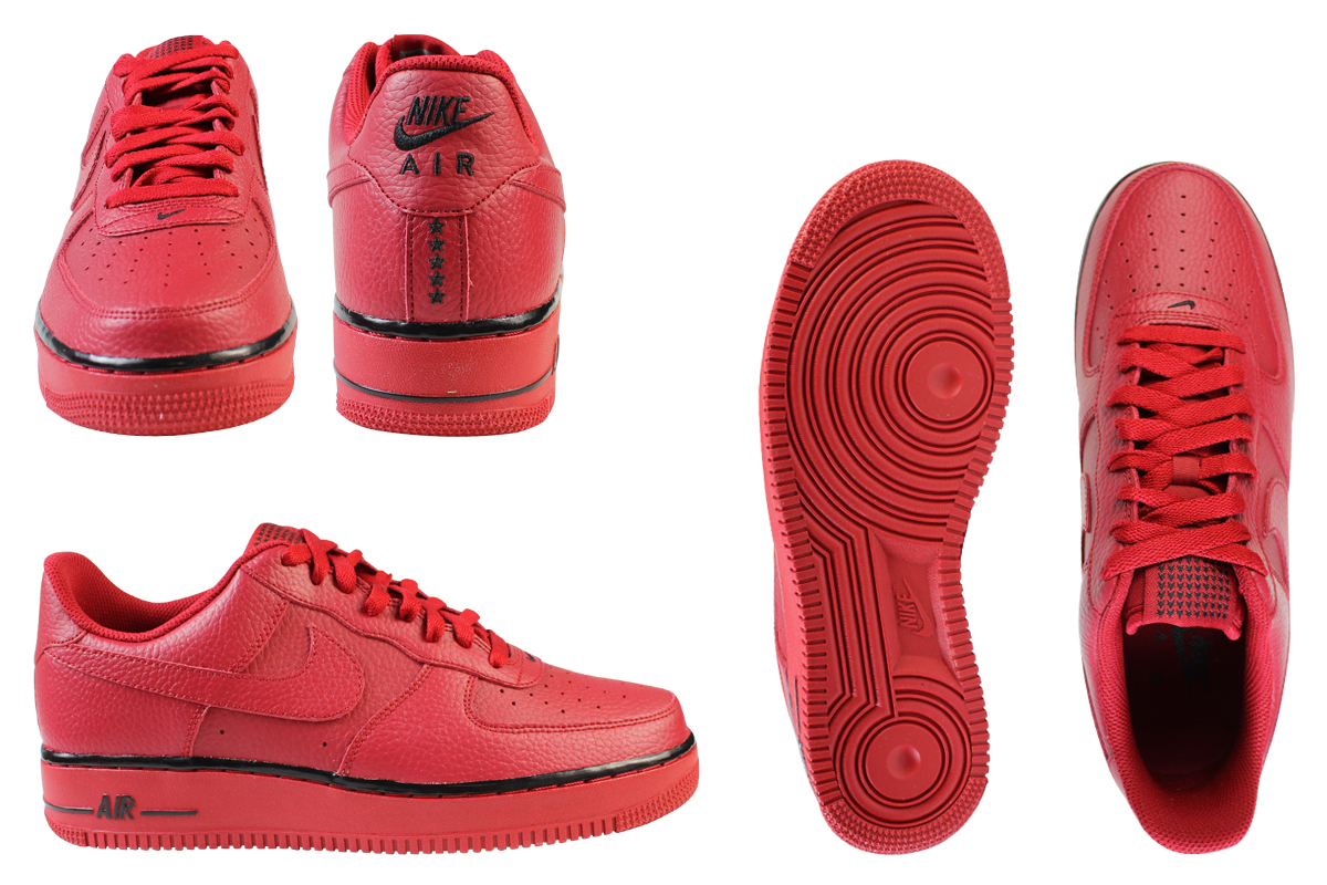 NIKE Nike air force sneakers AIR FORCE 1 07 air force 1 488,298 627 gym red men shoes red