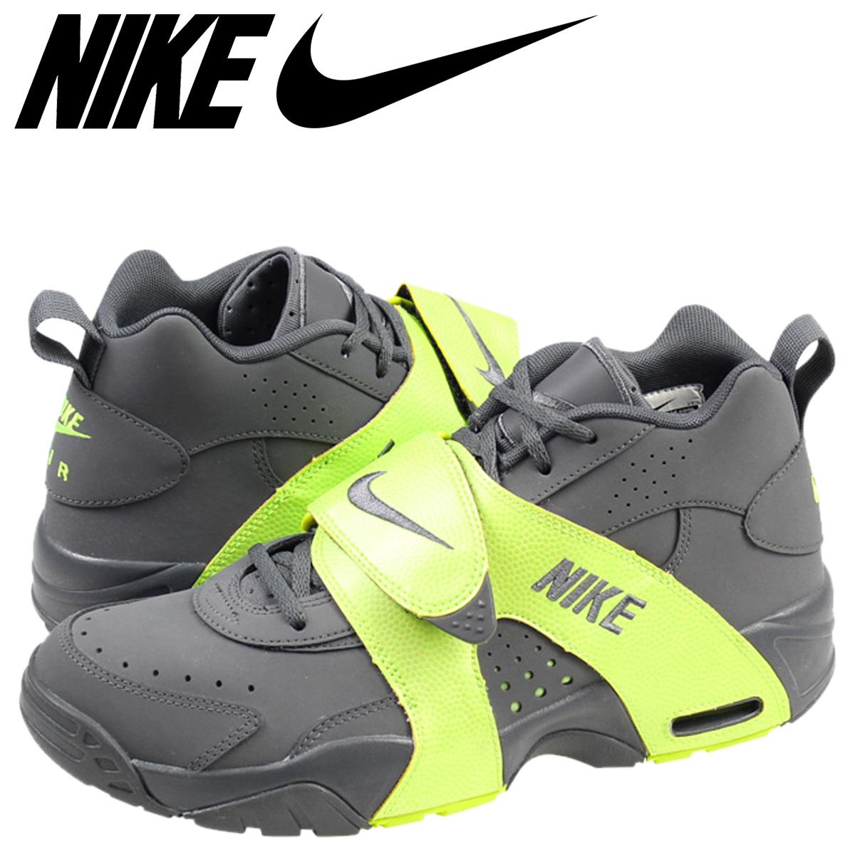 8524c44a269a Nike AIR VEER NIKE sneakers air Veer leather mens 599442-001 DARK GREY VOLT  dark grey  1 16 new in stock   regular