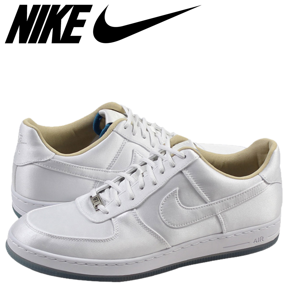 NIKE Nike air force sneakers AIR FORCE 1 DOWNTOWN QS air force 1 downtown 635,273 100 men's shoes white