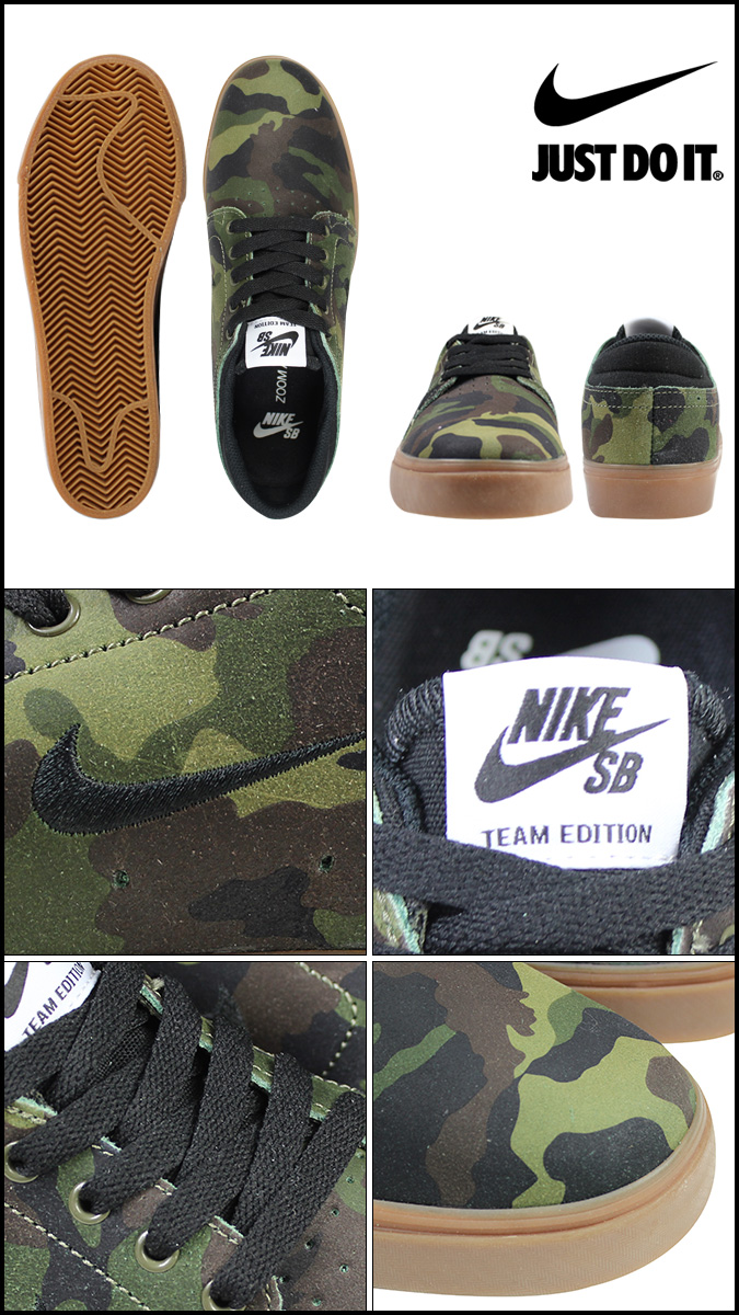 耐吉NIKE SB變焦距鏡頭運動鞋ZOOM TEAM EDITION 642290-202人鞋野鴨