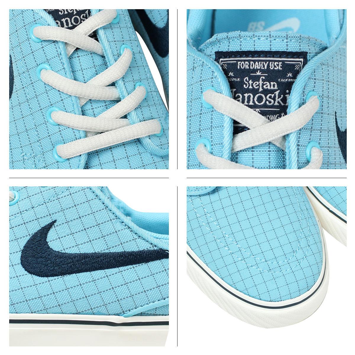 Nike NIKE SB ステファンジャノスキレディーススニーカー STEFAN JANOSKI PREM CNVS GS 654,862 440 blue