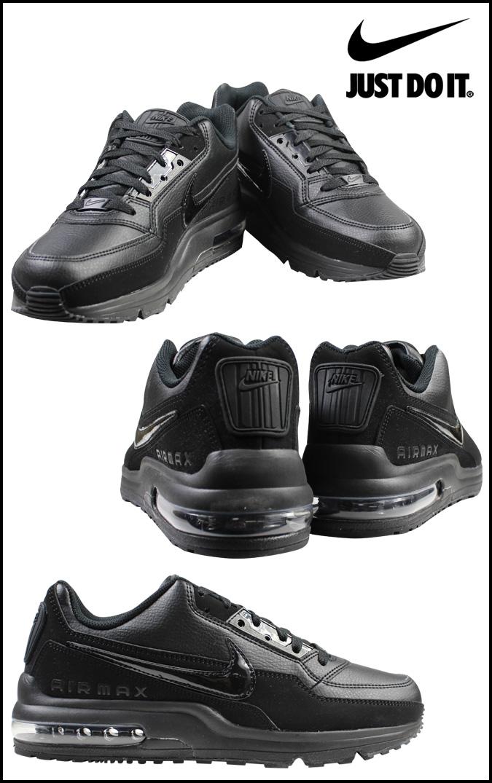 Nike Air Max Ltd De Cuero Negro k6fan