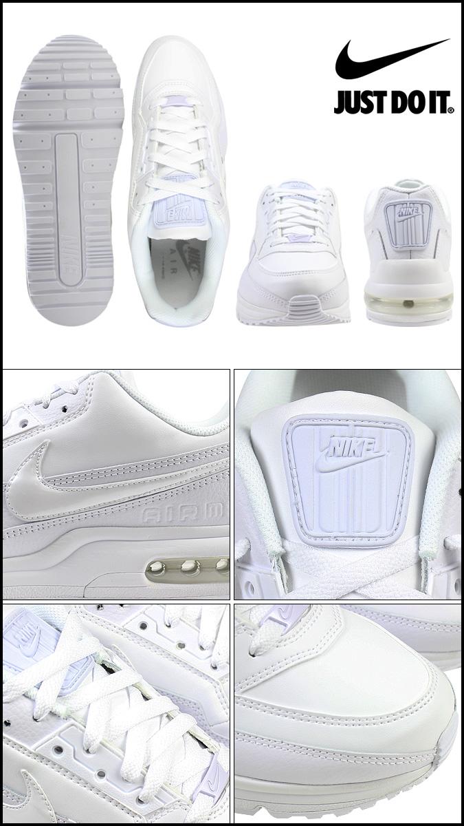Nike NIKE AIR MAX LTD 3 sneakers Air Max Ltd 3 leather mens 687977 111 WHITEWHITE white [12 26 new stock] [regular] ★ ★