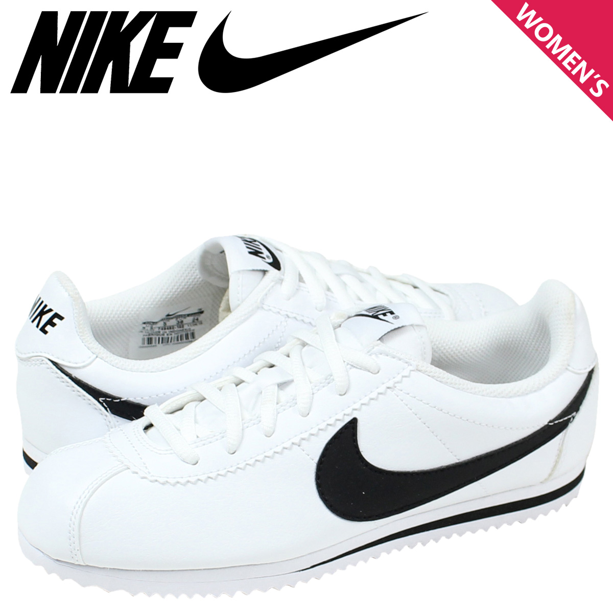 best service e0aaf 8656b [SOLD OUT] Nike NIKE Cortez sneakers Womens CORTEZ GS 749482-102 shoes white