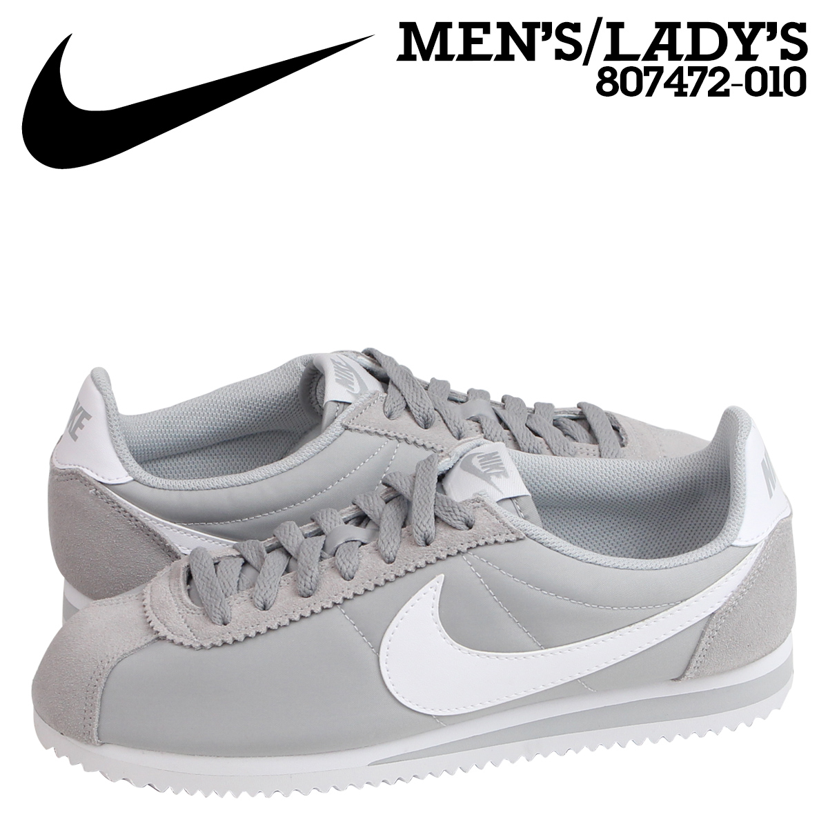 Nike Mens Shoes Gray Cortez Shoes