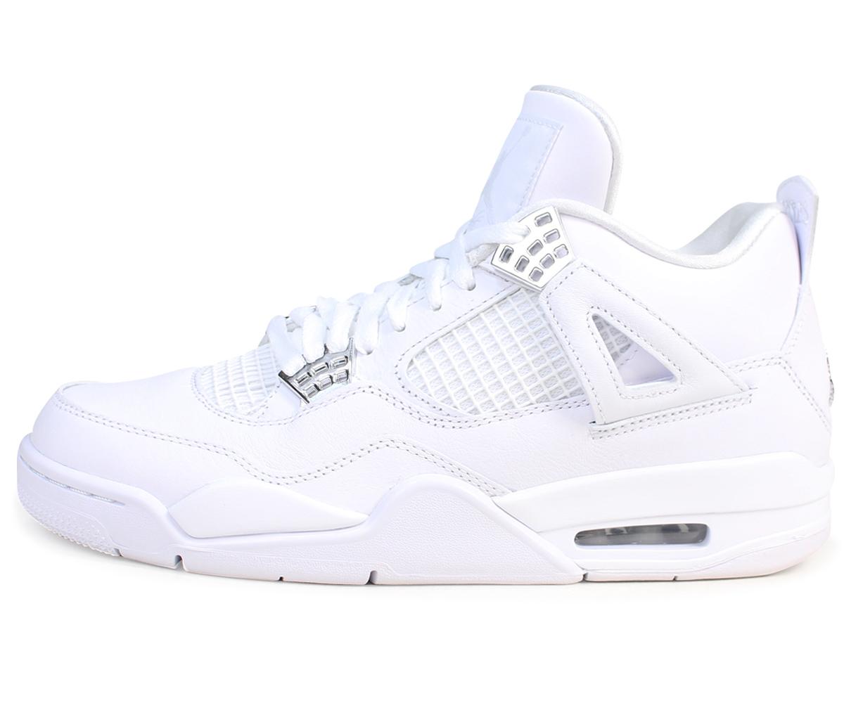 081f9fad800a6 NIKE AIR JORDAN 4 RETRO PURE MONEY Nike Air Jordan 4 nostalgic sneakers men  308