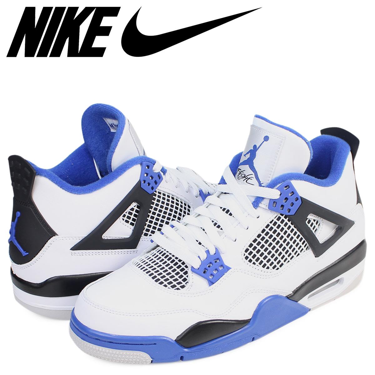 2ed83d85a59 NIKE Nike Air Jordan 4 nostalgic sneakers AIR JORDAN 4 RETRO MOTORSPORT  308,497-117 men's ...