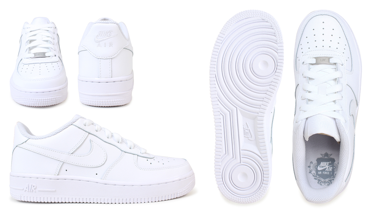 white nike air force 1 low junior