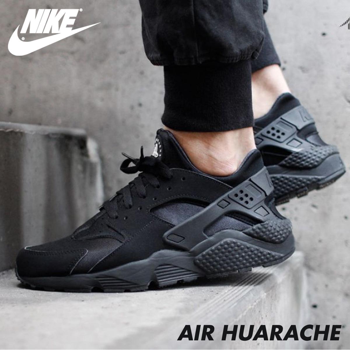buy popular 17b1d 5c04a ... NIKE ナイキエアハラチスニーカー AIR HUARACHE 318,429-003 men s shoes black  7 8 ...