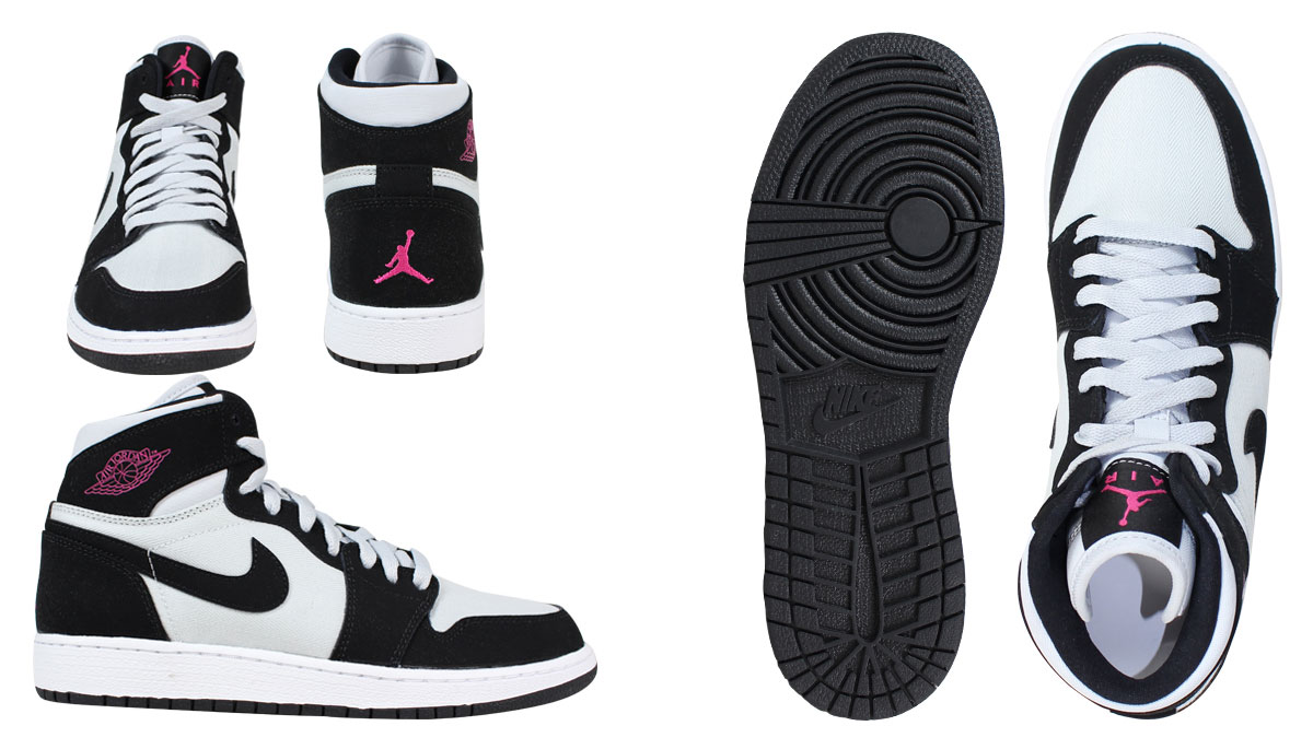NIKE Nike Air Jordan sneakers Lady's AIR JORDAN 1 RETRO HI GG Air Jordan 1 nostalgic high 332,148 015 shoes gray