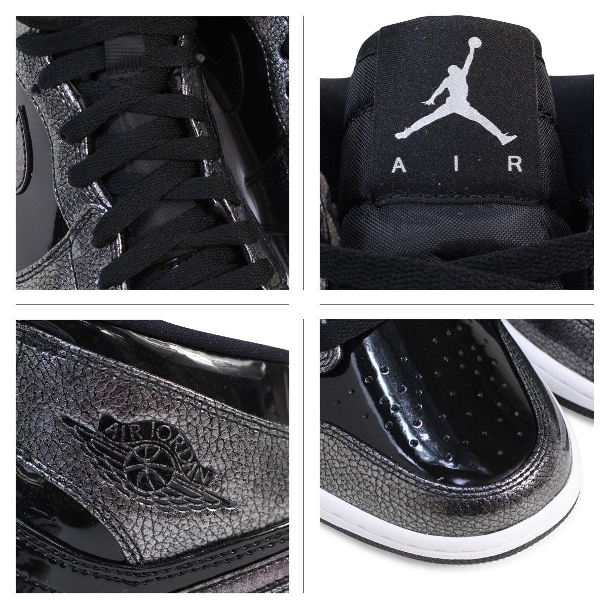 Nike NIKE Air Jordan men sneakers AIR JORDAN 1 RETRO HIGH 332,550-017 shoes black [1/20 Shinnyu load]