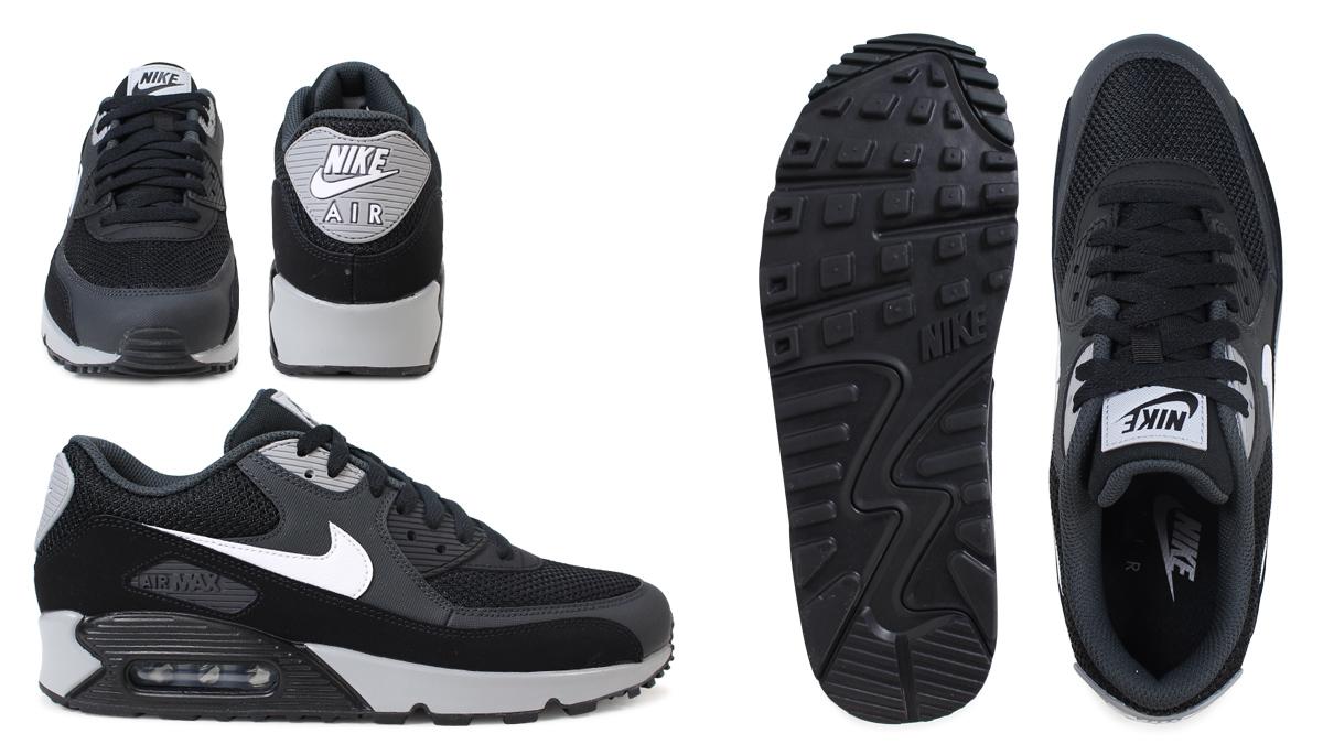 huge discount cac73 2cad3 Nike NIKE Air Max men sneakers AIR MAX 90 ESSENTIAL 537,384-063 shoes black   2 27 Shinnyu load