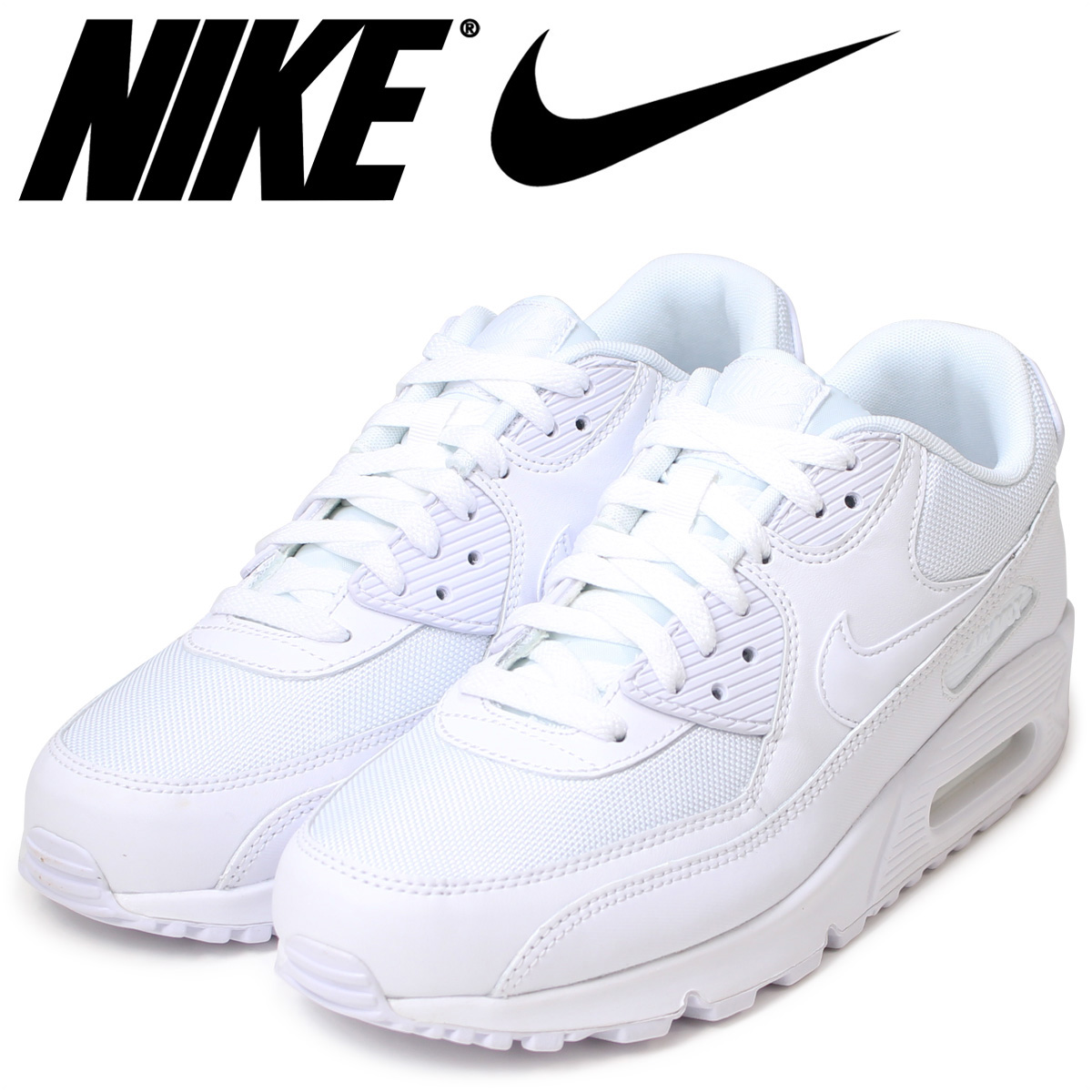 25e0058c631 Nike NIKE AIR MAX 90 ESSENTIAL sneakers Air Max 90 essential leather mens  Air Max 537384-111 WHITE WHITE white unisex  11   21 new in stock   regular