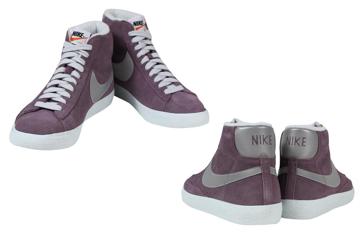 Nike Blazer Chariot Rouge Mi Millésime