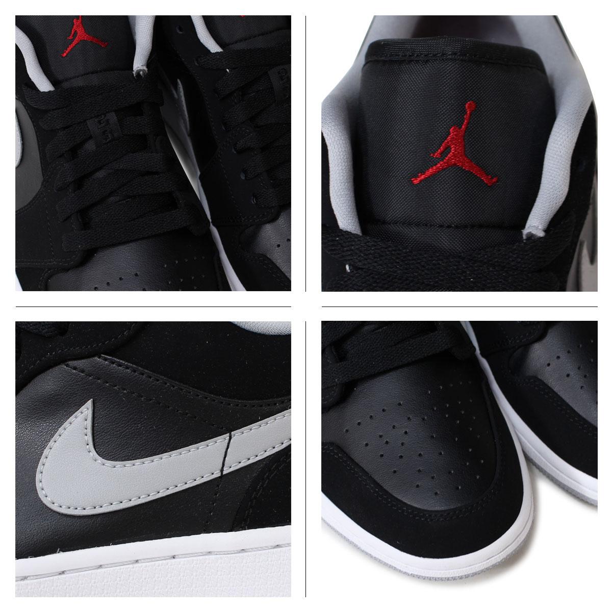 finest selection 9fe83 747c0 Nike Air Jordan NIKE sneakers men's AIR JORDAN 1 RETRO LOW Jordan retro 1  553558 - 032 shoes black [12 / 7 new in stock]