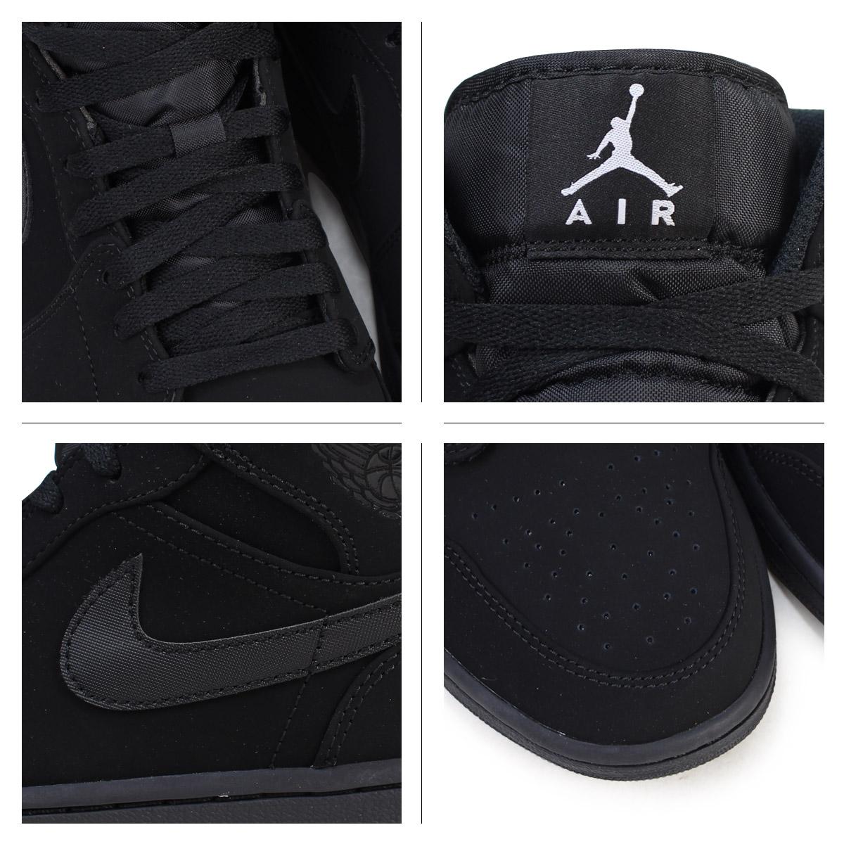 Nike Air Jordan 1 Para El Mercado Medio En Blanco Y Negro ydHUwK