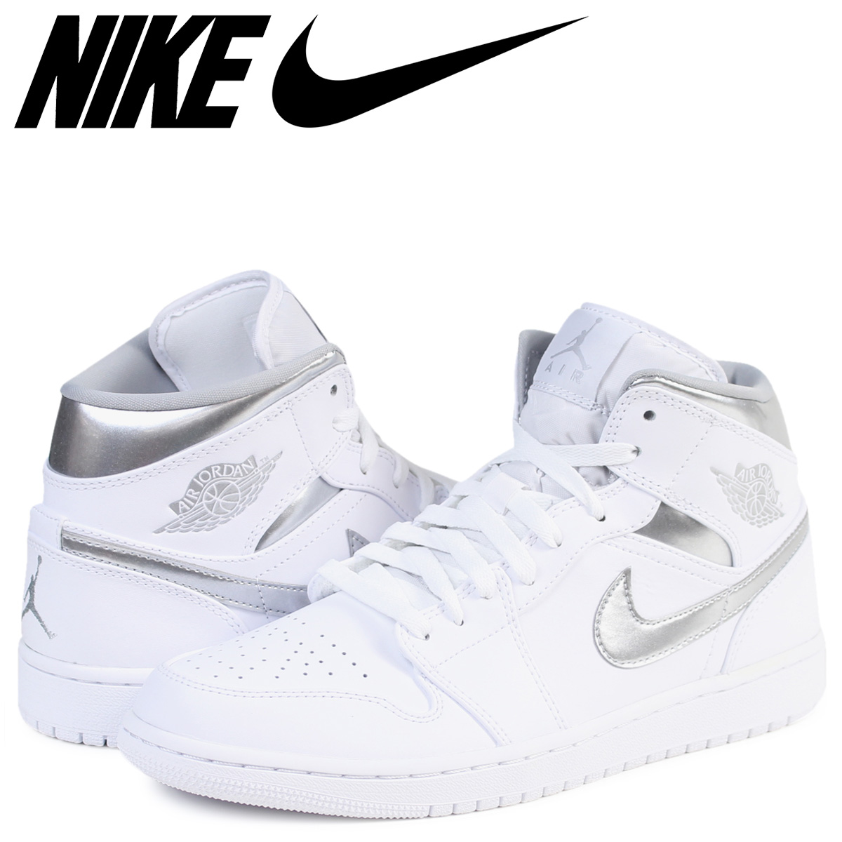 d7e53003e108fe ALLSPORTS  NIKE Nike Air Jordan 1 sneakers AIR JORDAN 1 MID PURE MONEY men  554
