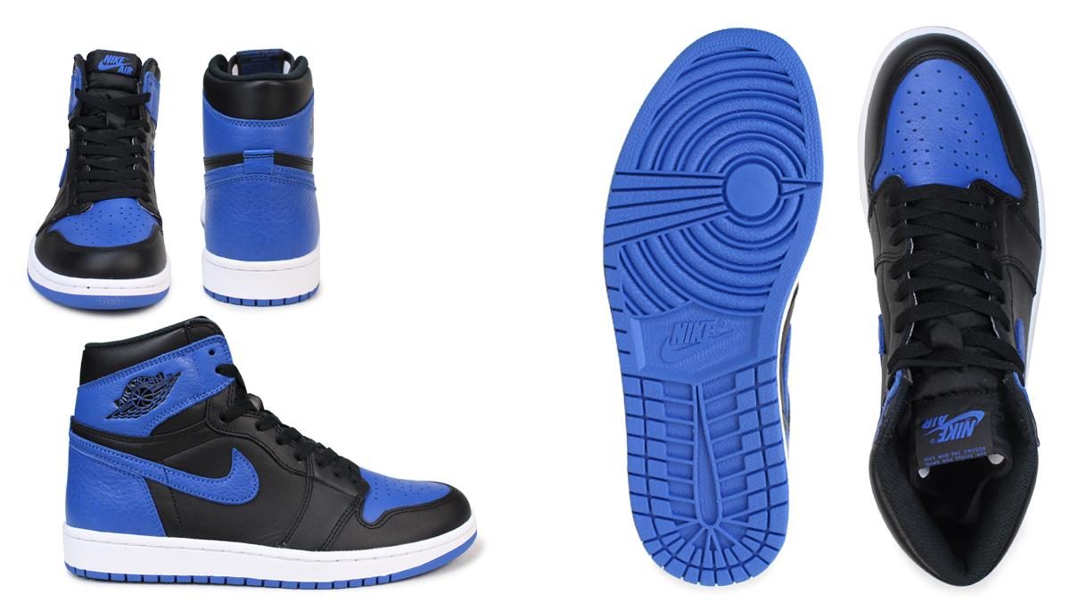 7962c4a34a36 NIKE Nike Air Jordan 1 nostalgic sneakers AIR JORDAN 1 RETRO HIGH OG ROYAL  555