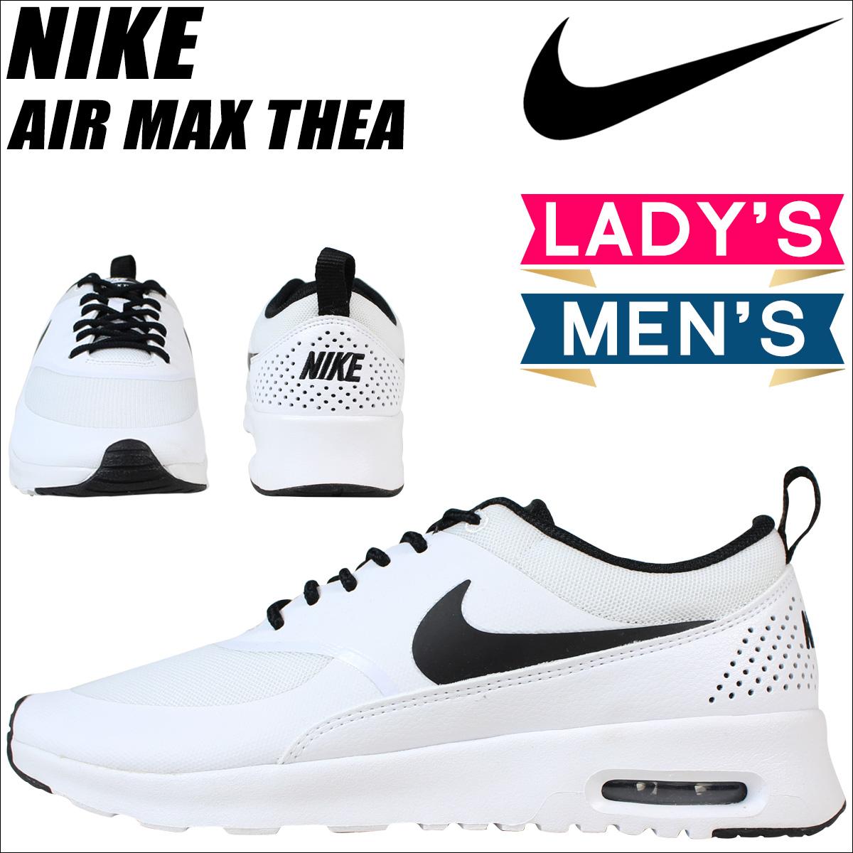 nike damen wmns air max thea sneakers weiß 102 white/black