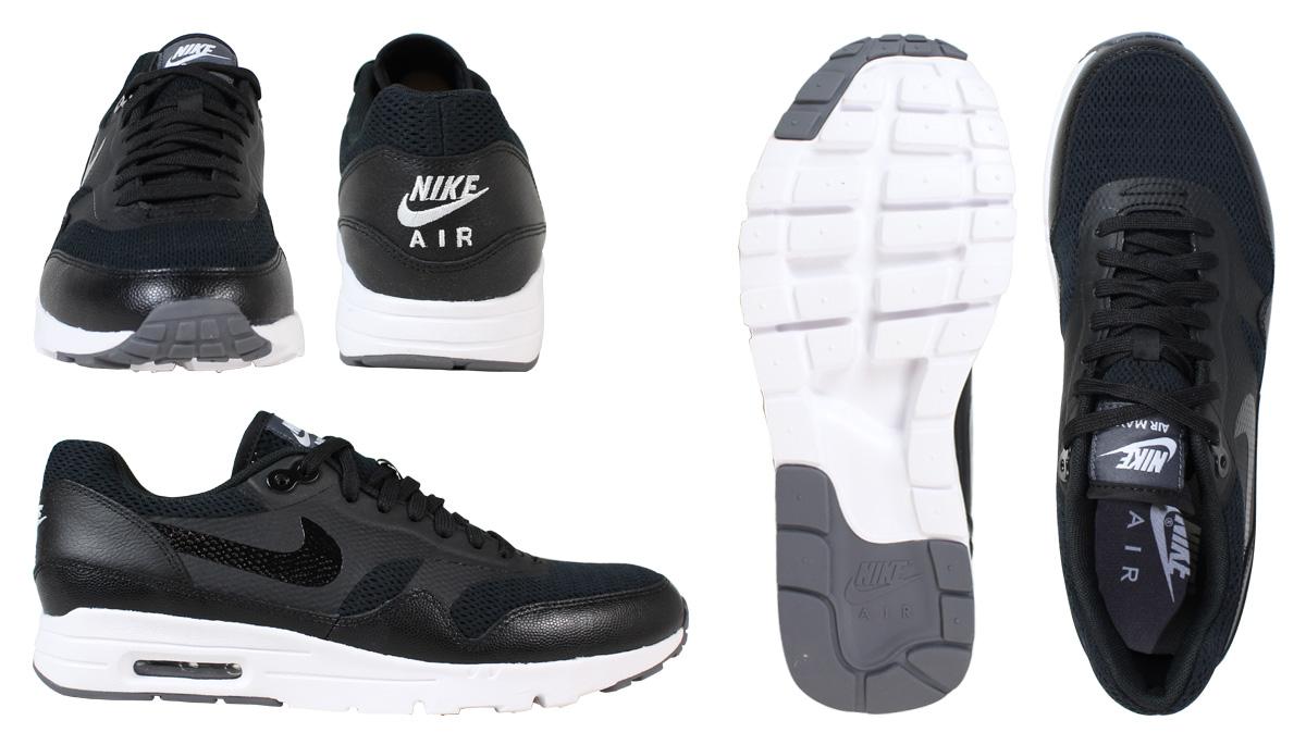 NIKE Nike Air Max sneakers Womens WMNS AIR MAX 1 ULTRA ESSENTIALS Air Max 1 704993 009 men's shoes black