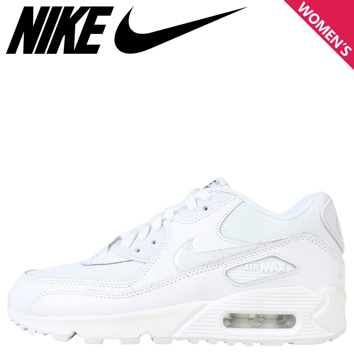 Nike Air Max 90 Mesh GS shoes white