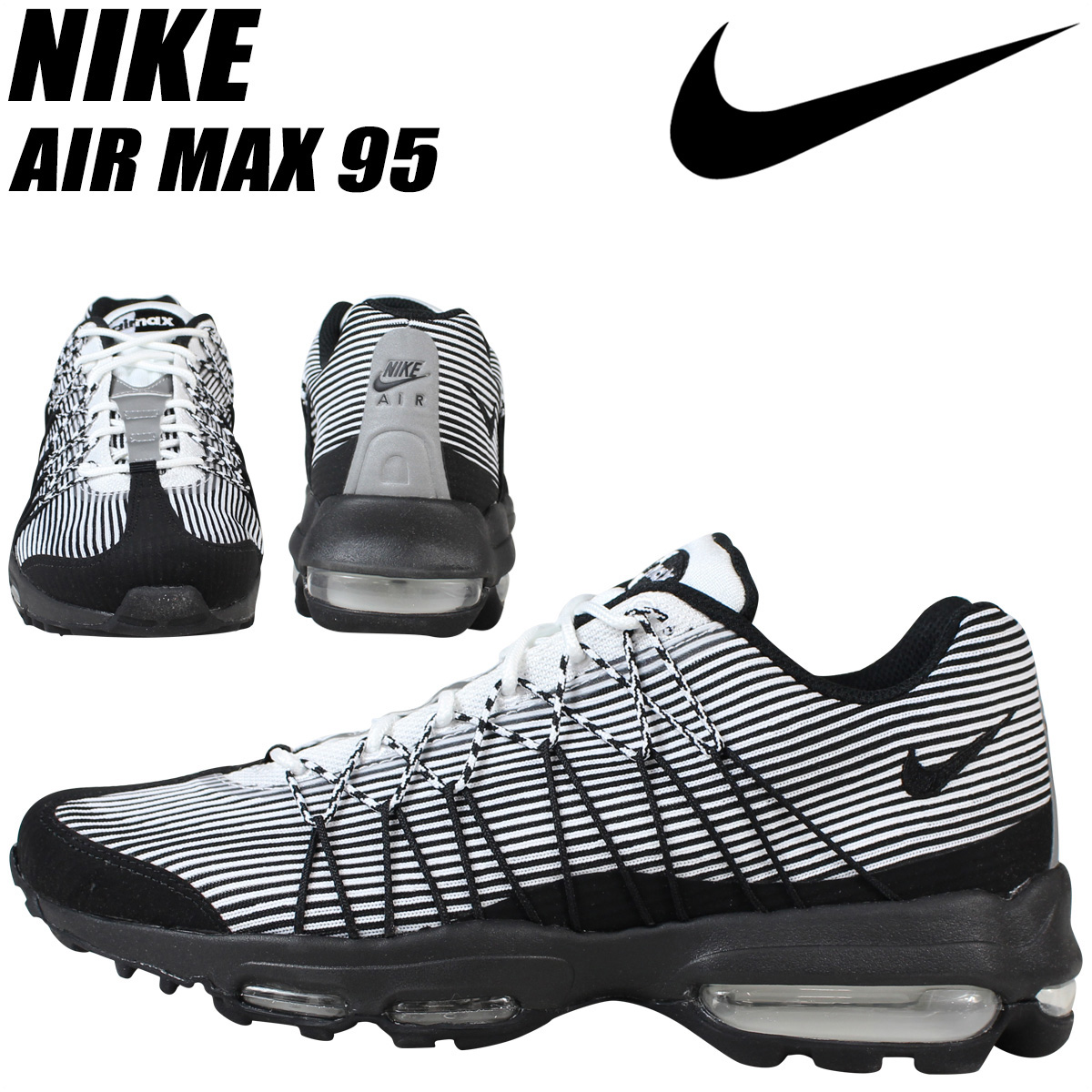 ALLSPORTS | Rakuten Global Market: NIKE Nike Air Max sneakers AIR MAX 95  ULTRA JACQUARD Air Max 95 749771-101 men\u0027s shoes black