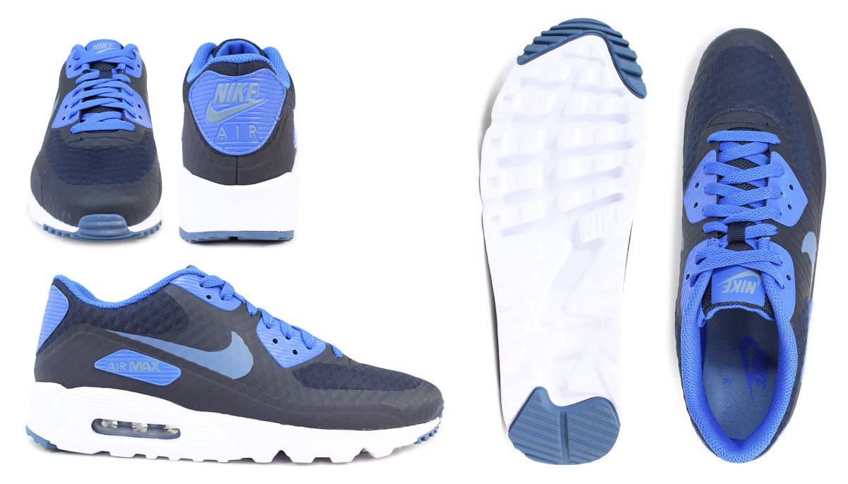 Nike NIKE Air Max men sneakers AIR MAX 90 ULTRA ESSENTIAL 819,474 013 819,474 405 shoes black [120 Shinnyu load]