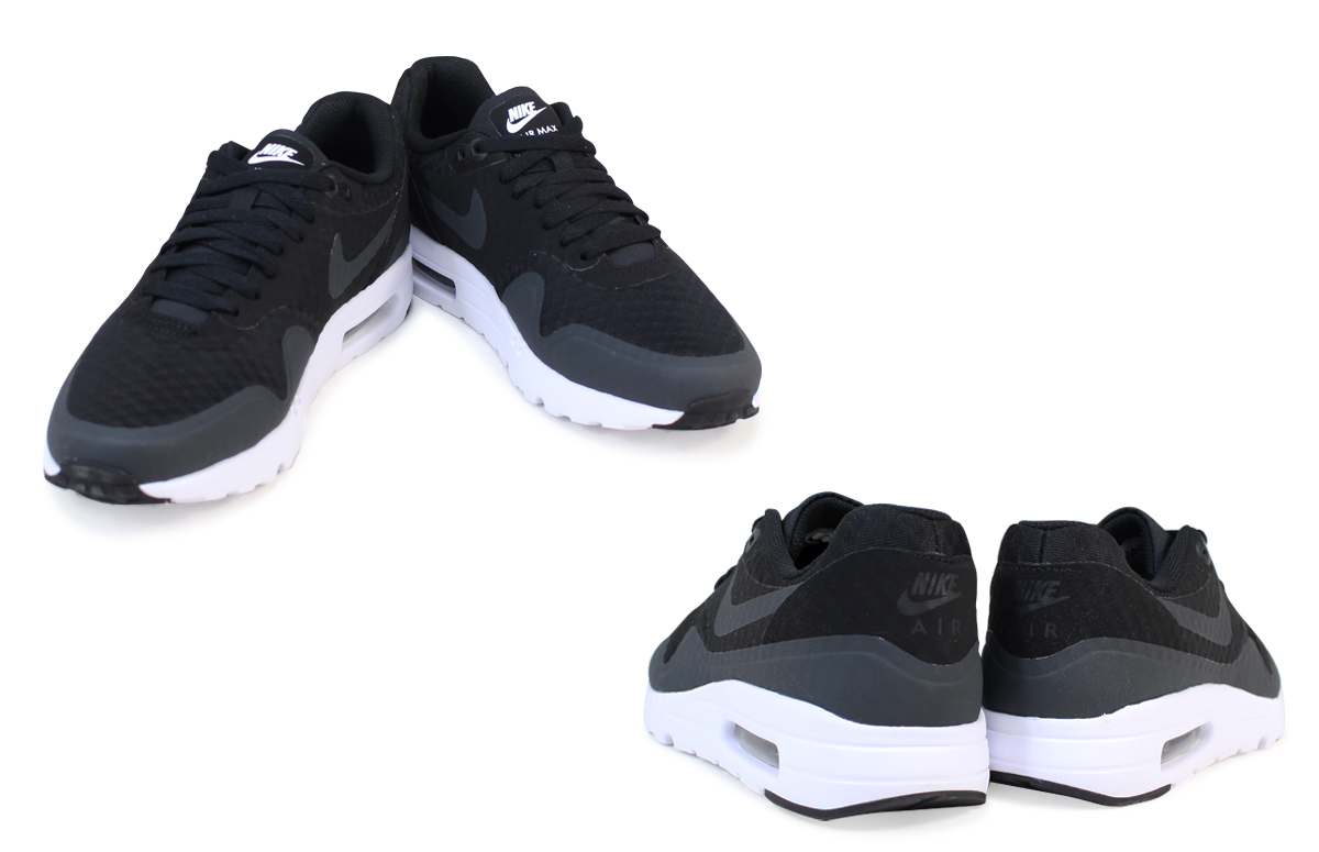 NIKE Kie Ney AMAX men sneakers AIR MAX 1 ULTRA ESSENTIAL 819,476 004 819,476 105 shoes black white